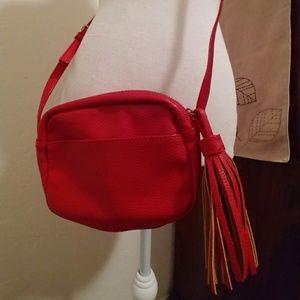 Gap red crossbody bag, like new!